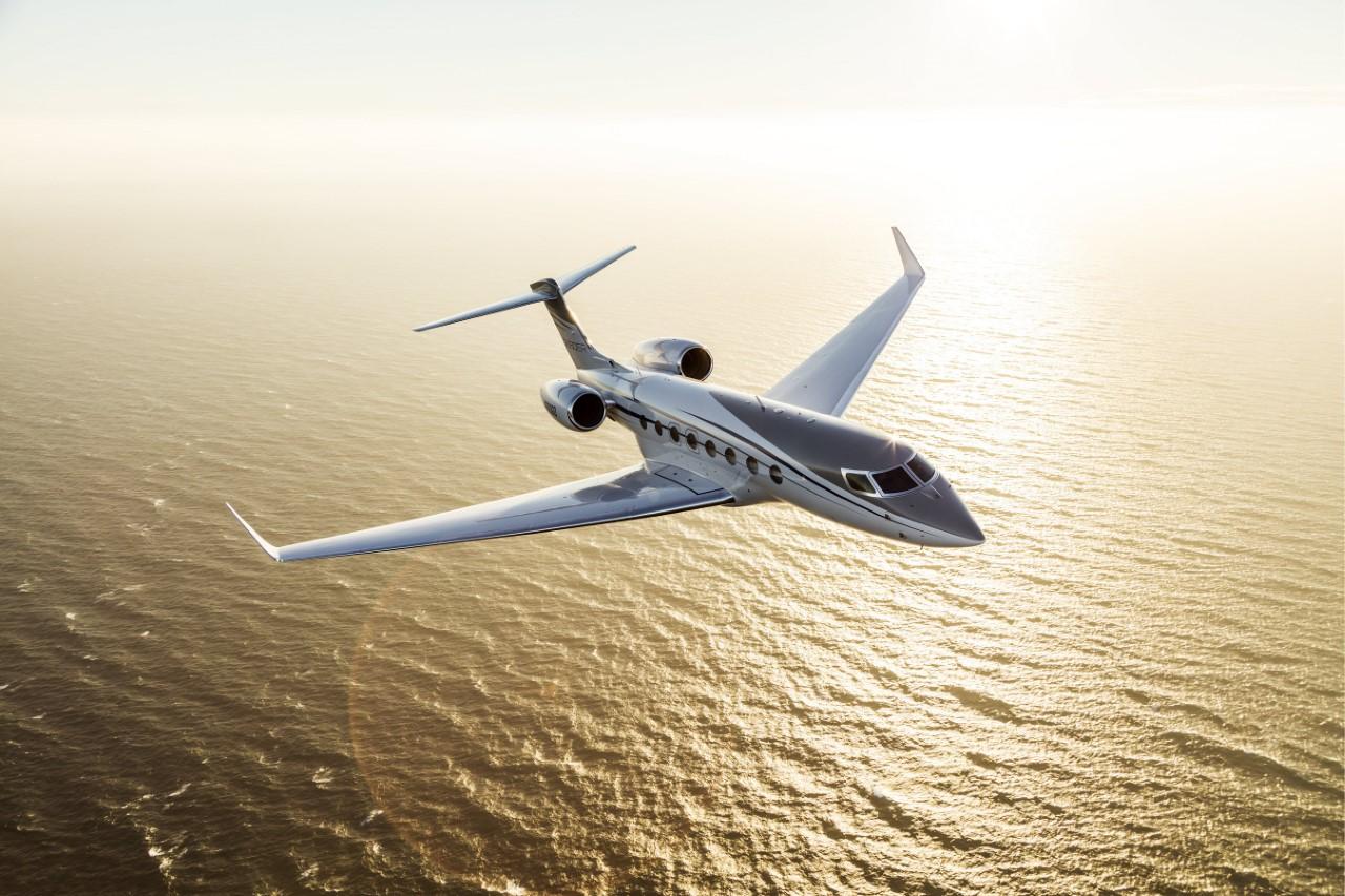 Gulfstream-G650ER in air
