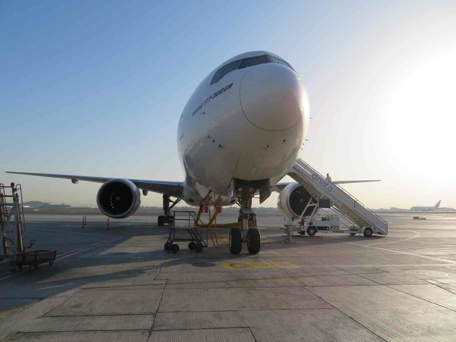 Swiss aviation consulting Boeing 777-300ER - B