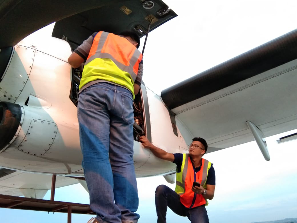 Swiss aviation consulting SAC Asia Inspectors at work