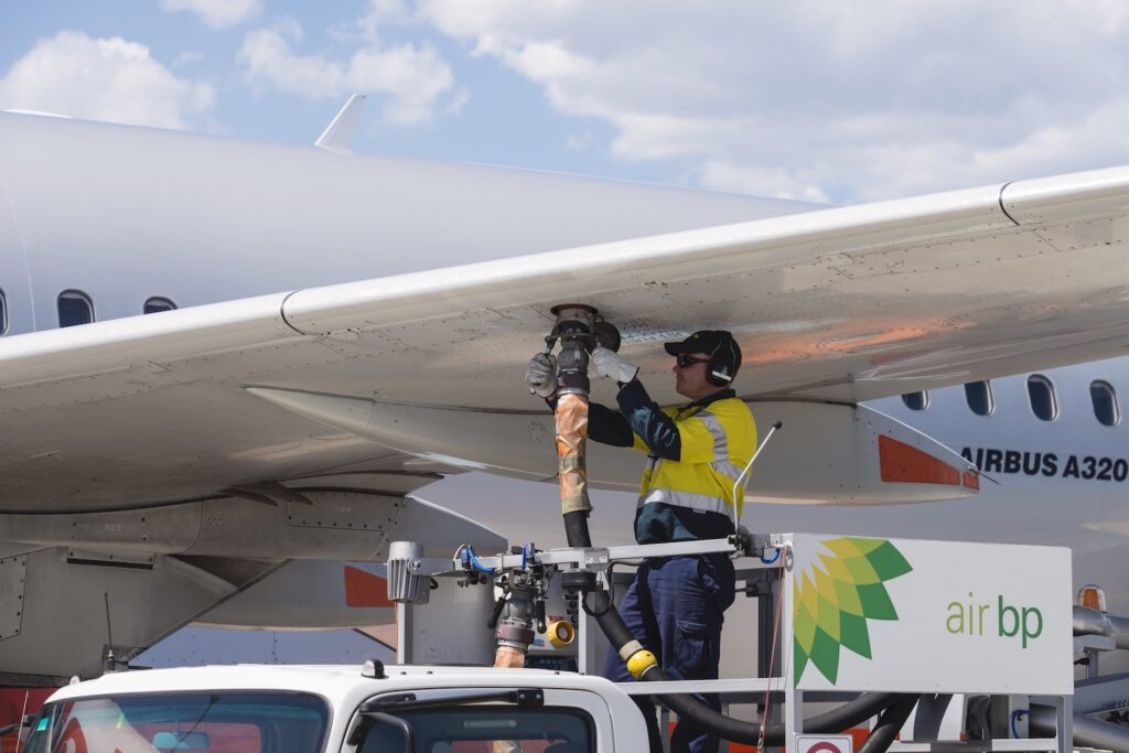 How Air BP's operations became carbon neutral Air BP Refuelling image 2
