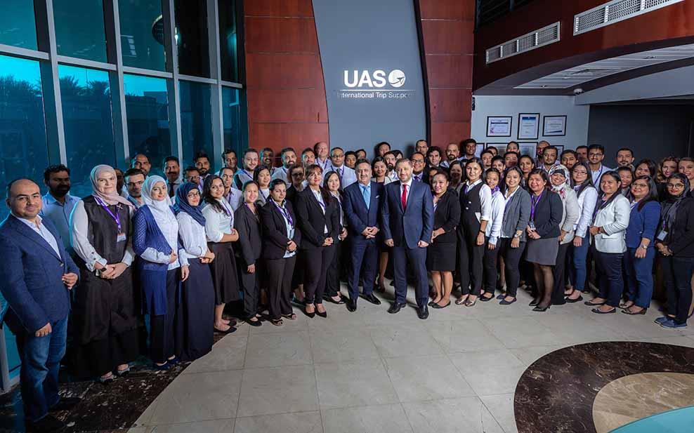 UAS International Trip Support