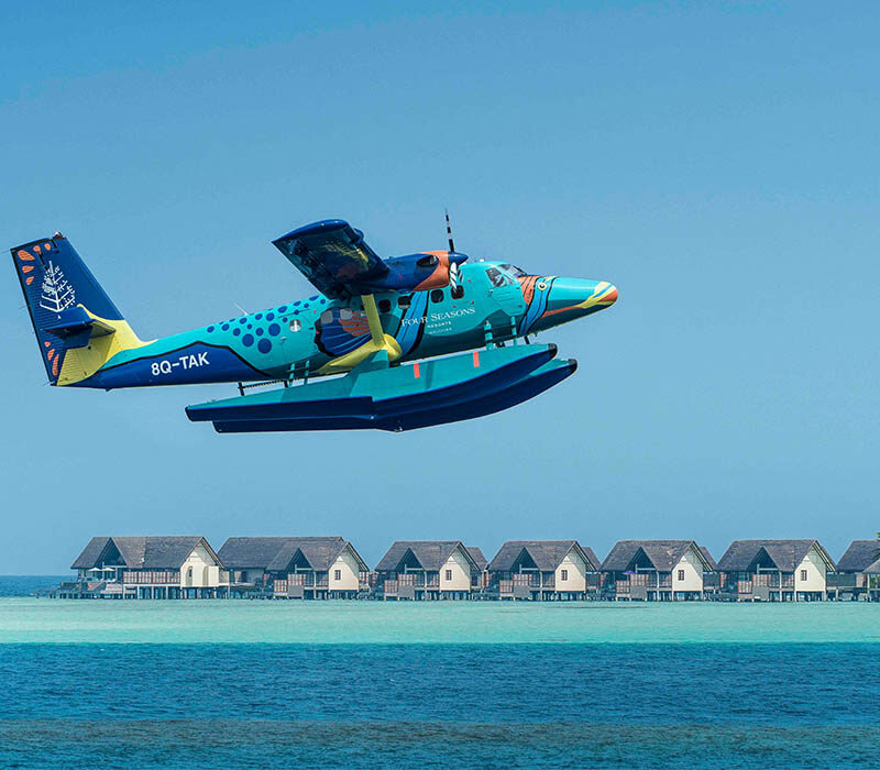 Vertis Aviation launches partnership with Four Seasons flagship private island