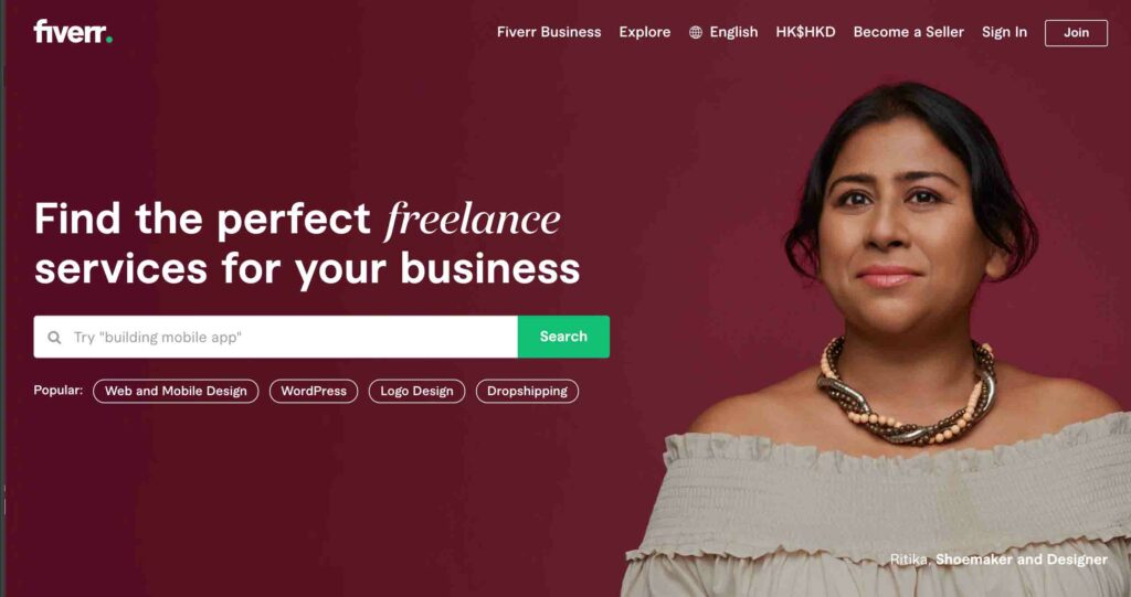 fiverr affiliate programmes