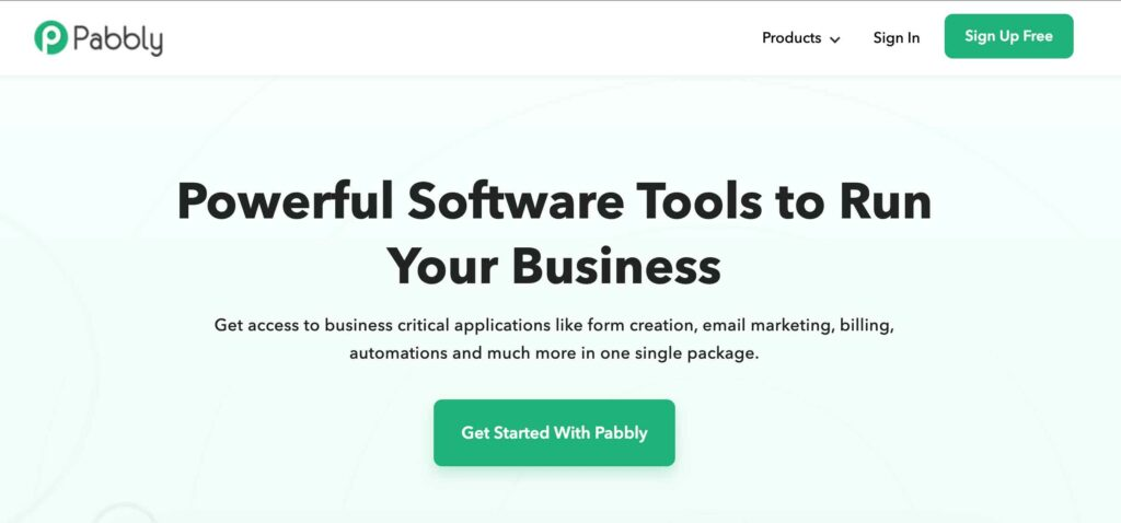 pabbly affiliate programmes
