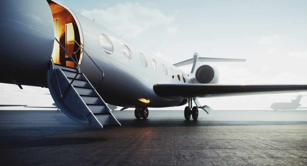 pre-owned business jet