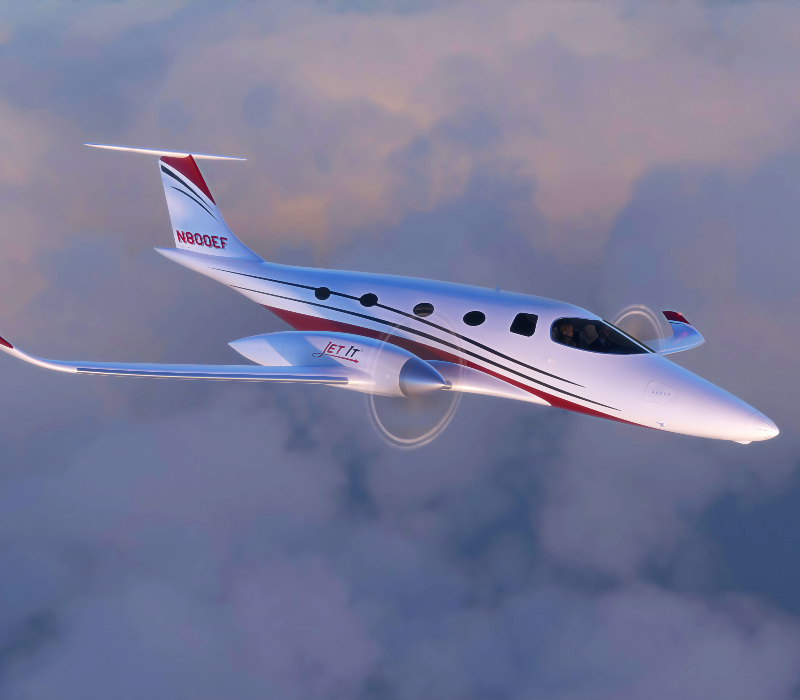 JetClub sustainable electric private jet