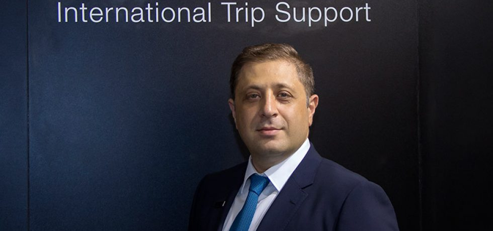 Omar Hosari, Co-Owner/Founder and CEO, UAS International Trip Support